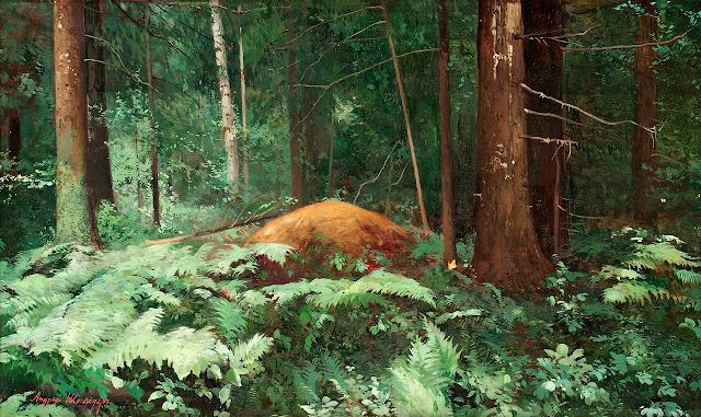 Andrei  Nikolaevich Schilder - Woodlands