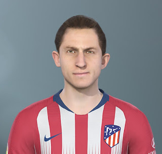 PES 2020 Faces Felipe Luis by The White Demon