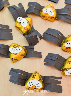 Halloween Candy Spiders