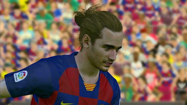 Griezmann Face by A5 Facemaker For PES 2017 PC