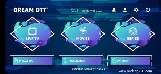 تحميل تطبيق Dream OTT لمشاهدة جميع قنوات العالم والأفلام والمسلسلات