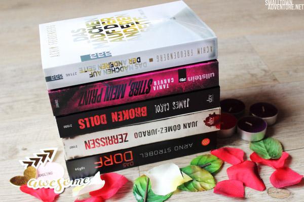 SuB Krimi Edition, Ungelesene Bücher, SuB den Sommer, Buchblogger