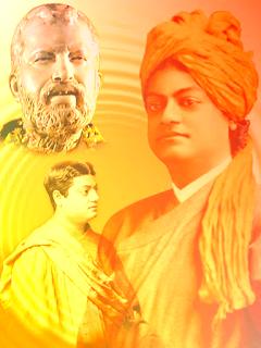 Ramakrishna Vivekananda artwork