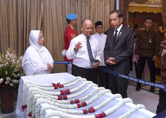 Presiden Jokowi Kunjungi Rumah Duka B.J. Habibie