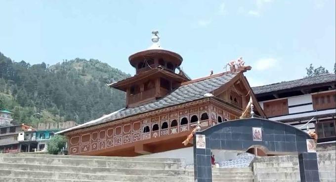 सतलुज वर्गीय पहाड़ी शैली का उत्कृष्ट नमूना है श्री मगरू महादेव जी छत्तरी