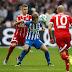 Laporan Pertandingan: Hertha Berlin 2-2 Bayern Munich