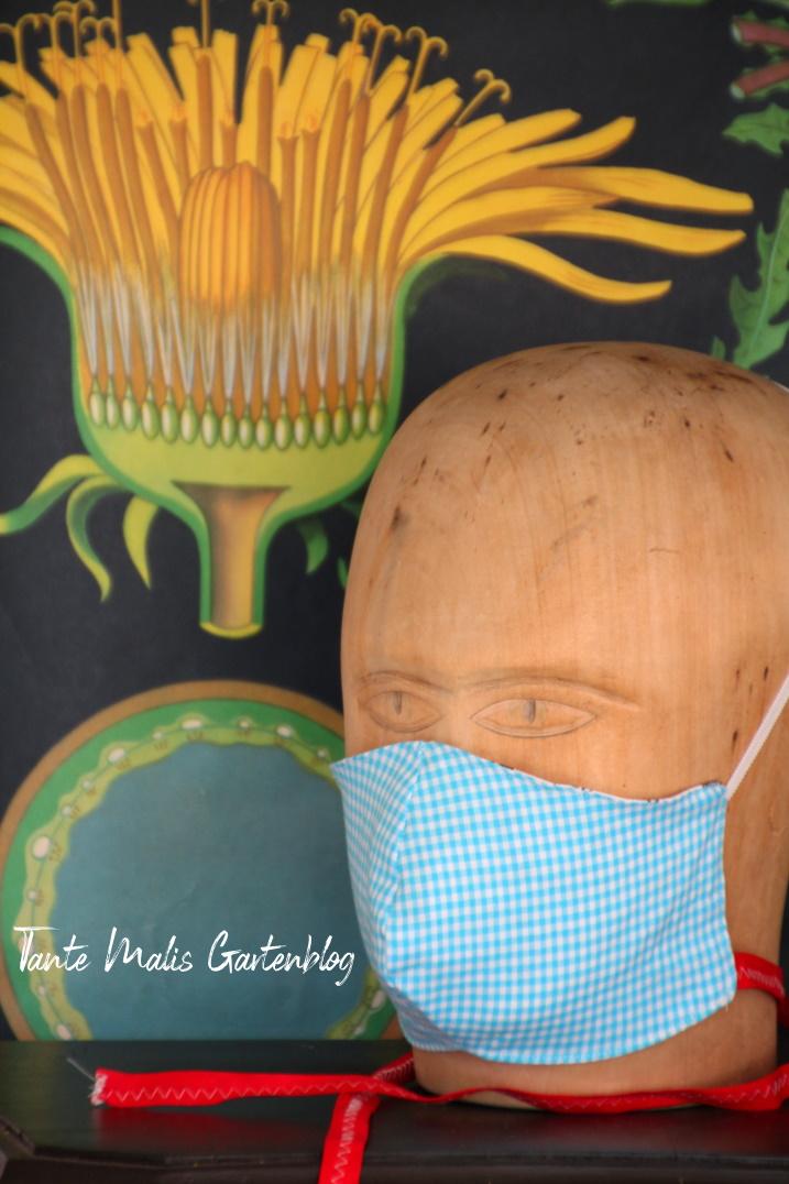 Mundschutzmaske selbst genäht