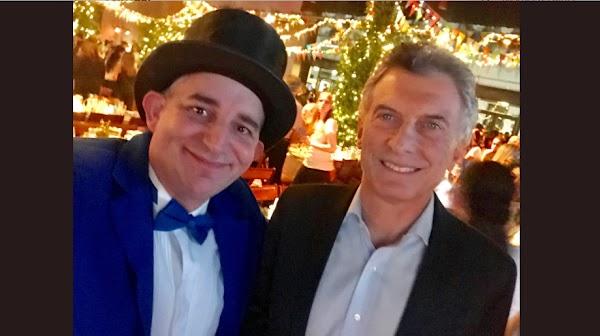 El día que Argentina volvió a estar en default, Macri se reunió con el Mago sin Dientes