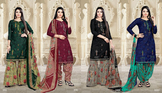 Bipson Sara Pashmina Winter Salwar Kameez Woolen Collection
