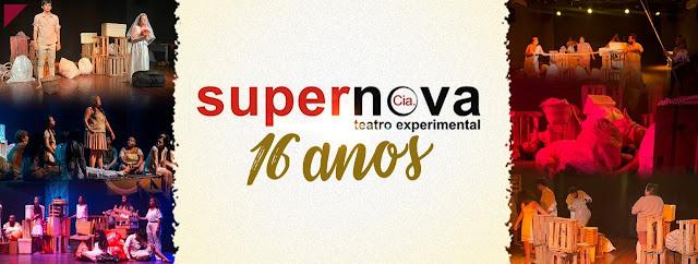 Cia Supernova comemora 16 anos com programação cultural