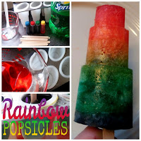 How to make rainbow popsicles