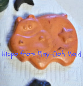 Animal Shaped Melted Crayons in Chocolate & Soap Molds