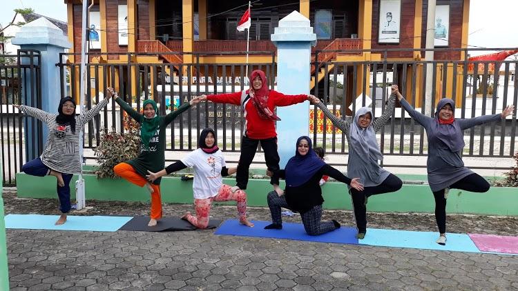Sanggar Yoga YTT Sukarame Bandar Lampung