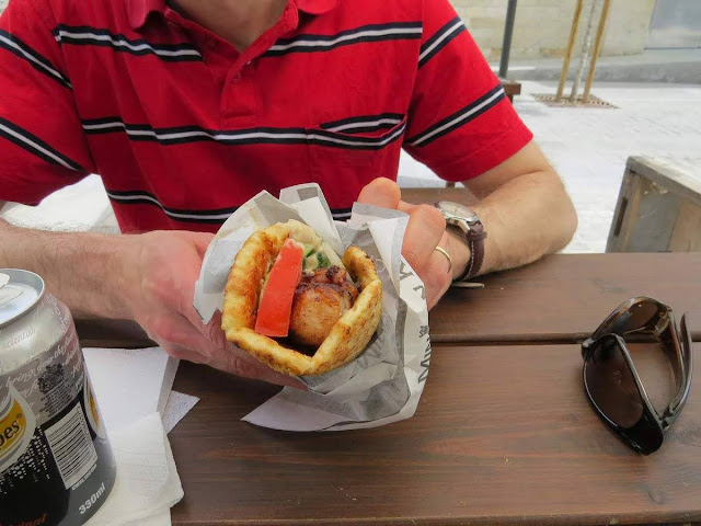 Cyprus in a week: pork kebab at Minoan Kitchen Kebab and Grill