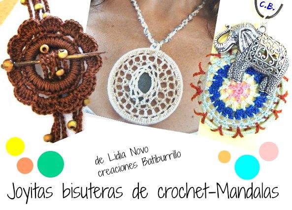 936caf9093d2 Mandalas a crochet bisuteria tutoriales - Patrones Crochet