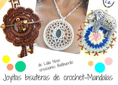 Mandalas a crochet bisuteria tutoriales