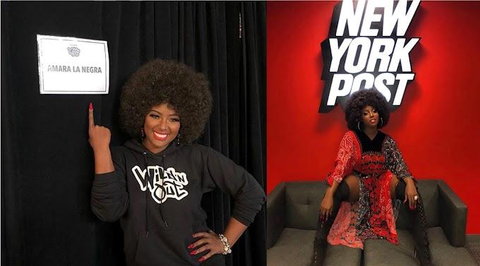 Amara La Negra dice que seguirá usando ropa de segunda mano y no es fanática de la moda
