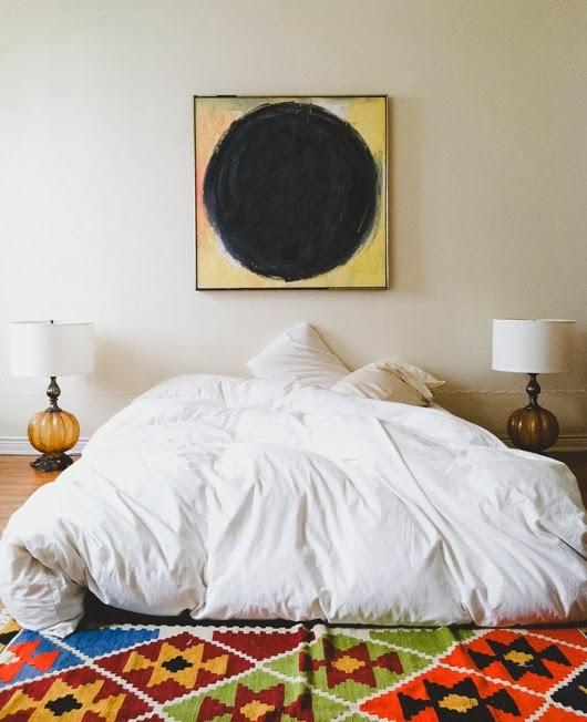 Bohemian Bedroom: Moon To Moon: A Mattress On The Floor