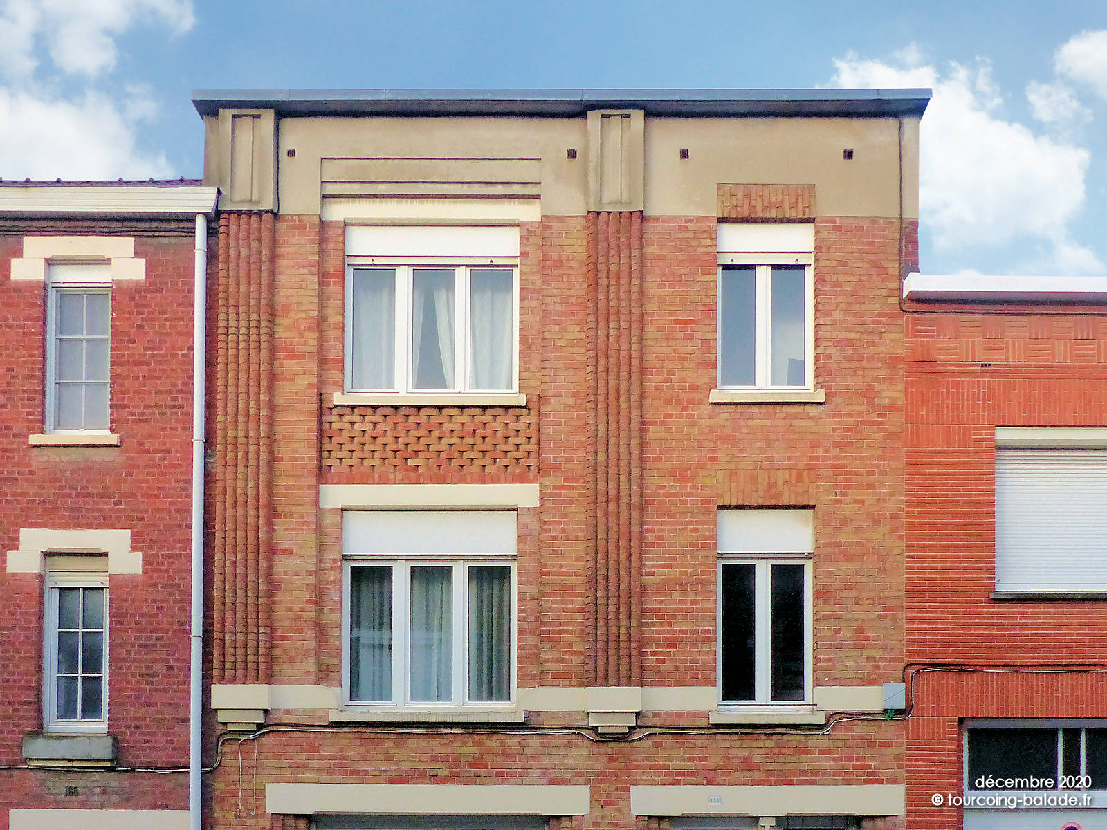 Architecture Moderne Années 30, Tourcoing Blanc Seau