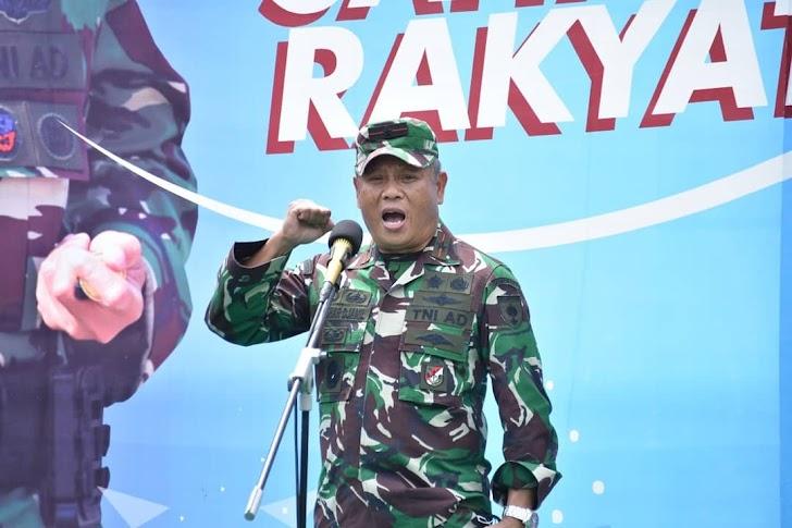 Danrem 141/Tp, Launching Tagune Aku Sahabat Rakyat