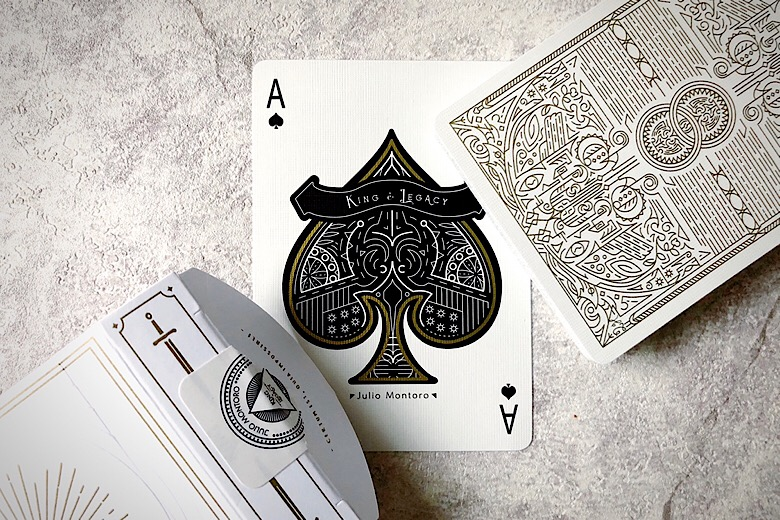 Detailed Look: King and Legacy (Gold Edition) Playing Cards