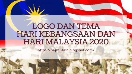 Logo dan Tema Hari Kebangsaan dan Hari Malaysia 2020