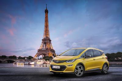 Opel Ampera-e: Παγκόσμια Πρεμιέρα που 'Ηλεκτρίζει' στο Παρίσι