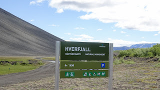 Entrance to Hverfjall