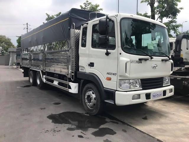 Giá xe Hyundai HD240 thùng mui bạt