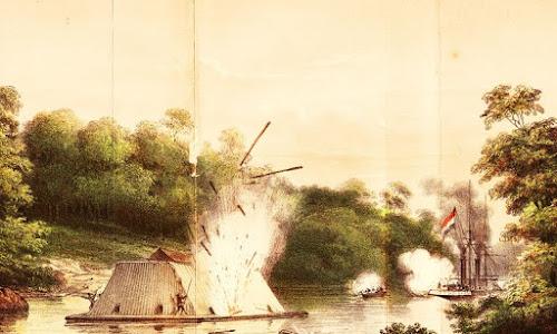 Lanting Kotamara: Benteng Terapung dalam Strategi Perang Kesultanan Banjar