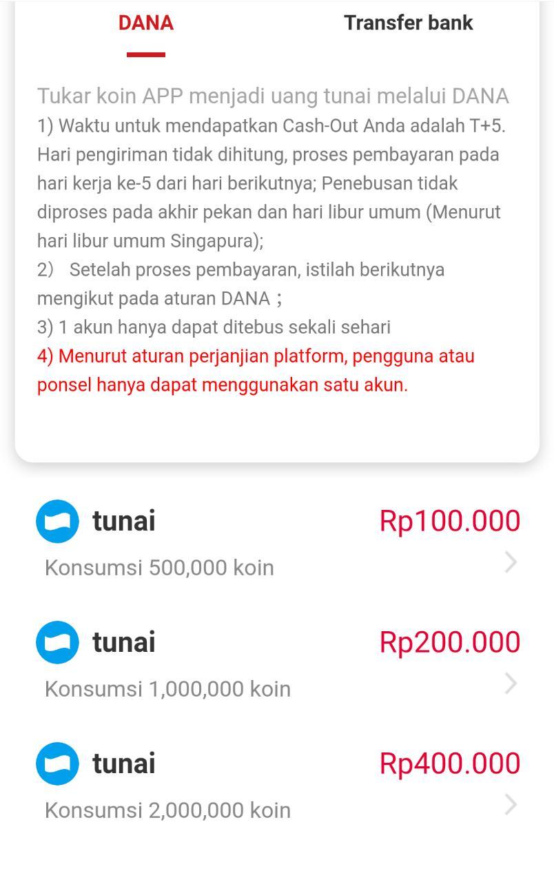 Cara mendapatkan uang dengan menggunakan aplikasi HP