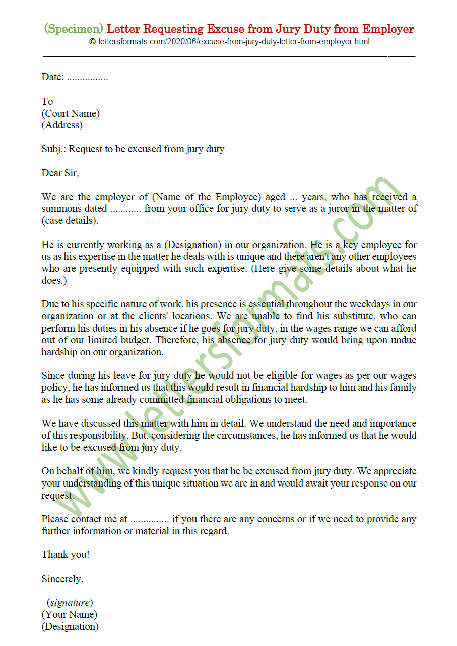 Jury Excuse Letter From Employer from 1.bp.blogspot.com
