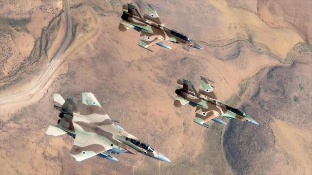 Israel bombardea posiciones del Ejército sirio