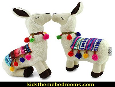 Llama Shaped Decorative Pillow Plush Llama llama toys llama plush