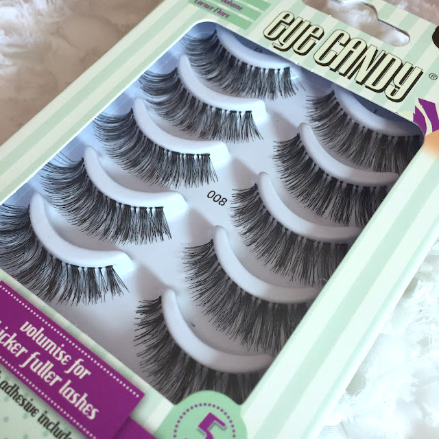 Eye Candy False Lashes - Review