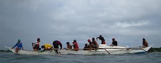 philippines, philippine squid fishermen