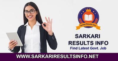 Sarkari Results info (सरकारी रिजल्ट) 2020: Sarkari Results Info Provides you all the latest Sarkari Results Notification, Sarkari Results info, Online Forms, Admit Cards in various govt Job
