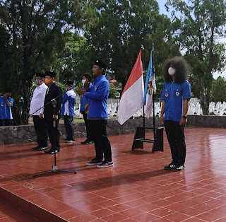 "Ketua DPD KNPI Kota Bandar Lampung, Bung Iqbal : ""Pemuda adalah Calon Pemimpin Masa Depan, Terus Mengisi Diri dengan Wawasan dan Nilai-Nilai Yang Baik""."