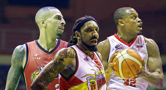 Top 5 Leading Best Import Candidates 2018 PBA Commissioner's Cup