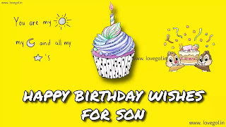 Birthday Wishes & Messages For Son