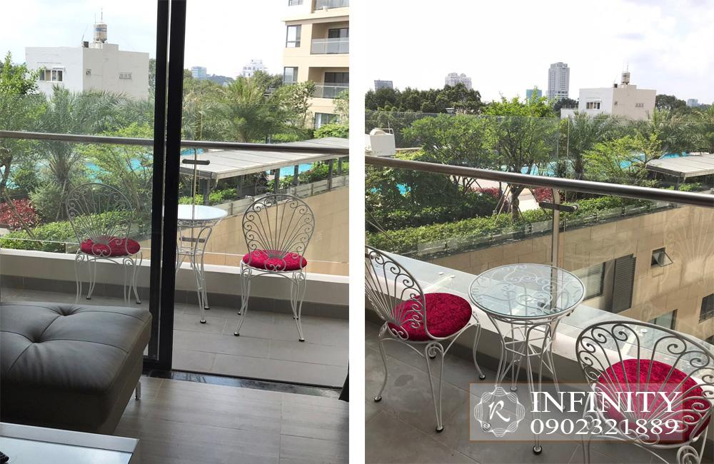 Cho thuê căn hộ Everrich Infinity Quận 5 tầng cao full nội thất - hình 6