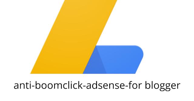 anti boomclick adsense for blogger