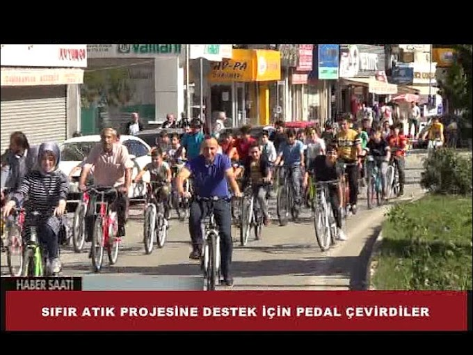 Turhal Belediyesi tarafından Sıfır Atık Projesi'ne destek vermek için etkinlik düzenlendi.