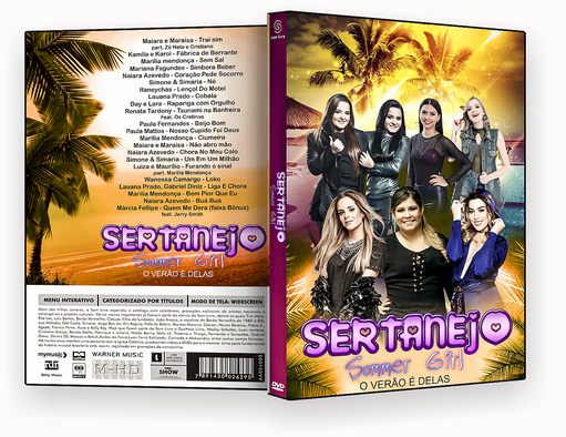 CAPA DVD – Sertanejo Summer Girl – ISO