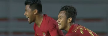 Indonesia Men Football Team Defeat Singapore 2-0 in SEA Games 2019