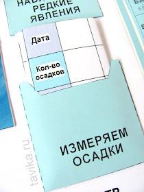 """Лэпбук о погоде """"Домашняя метеостанция"""""""