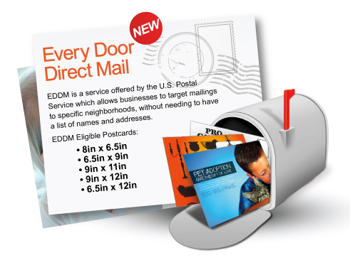 Eddm for Usps every door direct mail template