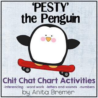 See how 'Pesty' the Penguin messes up the morning message so students have to fix it! Great for literacy skills and inferencing.