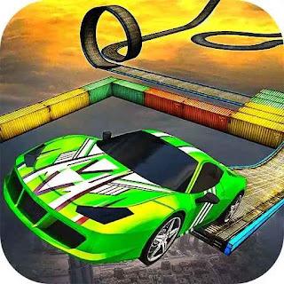 Impossible stunt car tracks 3d apk