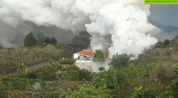 La Cámara Alta aprueba un acuerdo para seguir reforzando las líneas de ayuda con La Palma